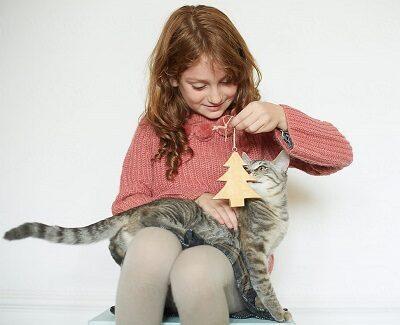 С кошкой можно поиграть любым предметом