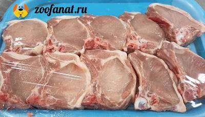 Мясо - главный компонент