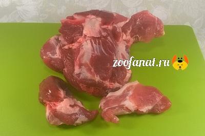 В натуральном кормлении главное мясо
