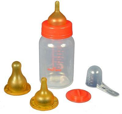 Бутылочка и соски для молочной смеси