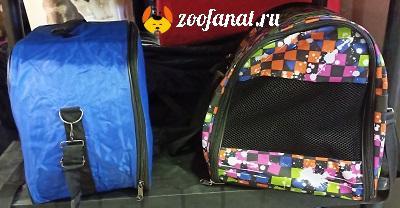 Образцы сумок переносок